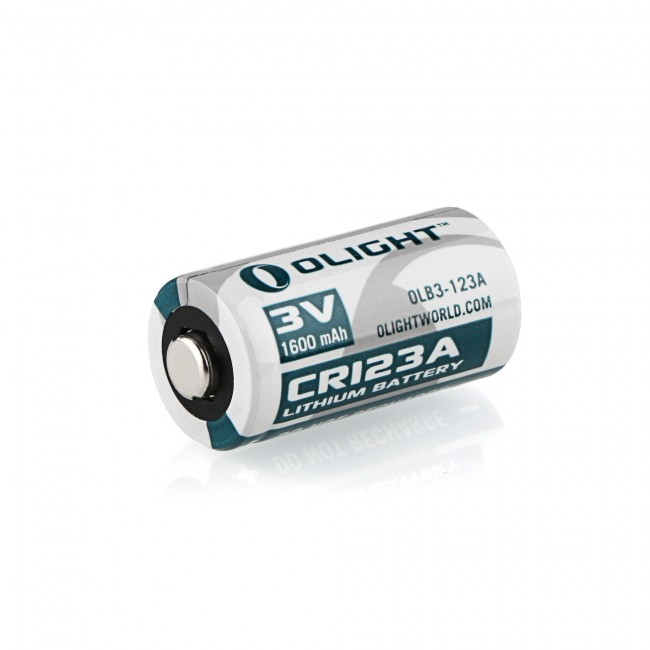 Baterie li-ion Olight CR123A 1600mAh 3V