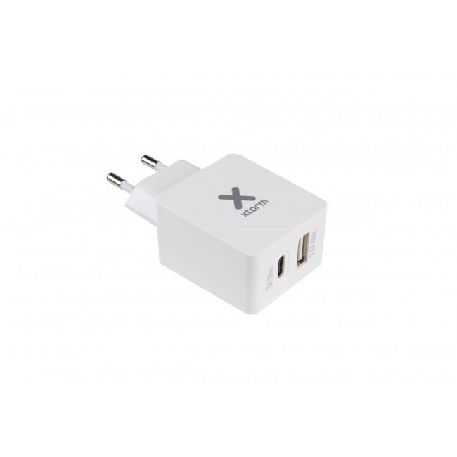 Incarcator priza USB C si USB Xtorm