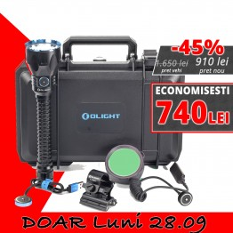 Set complet lanterna vanatoare Olight JAVELOT SET XXL