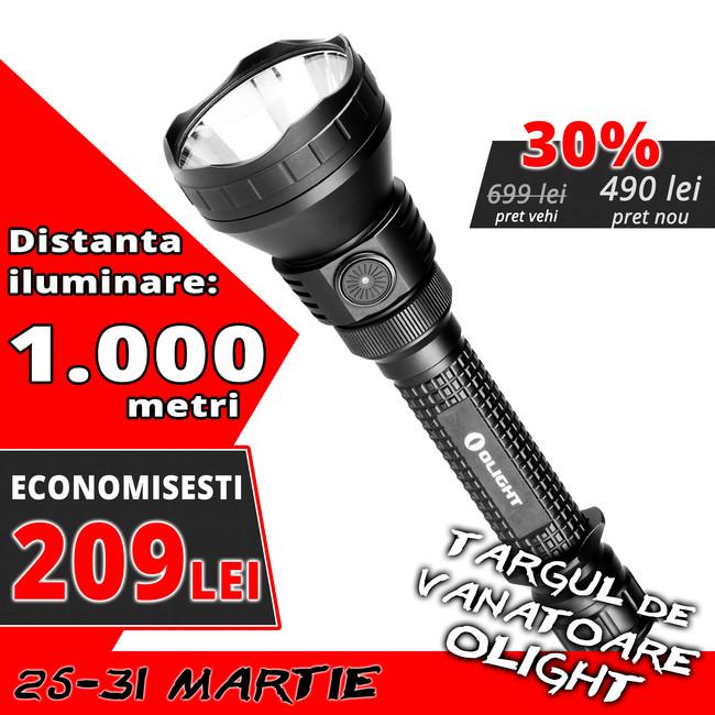 Lanterna led vanatoare Olight M3XS-UT Javelot