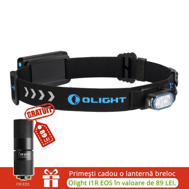 Lanterna led frontala reincarcabila Olight HS2  + I1R GRATIS