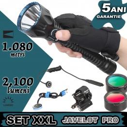 Set complet lanterna vanatoare Olight JAVELOT SET XXL