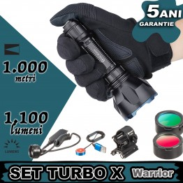 Set lanterna vanatoare Olight SET TURBO X