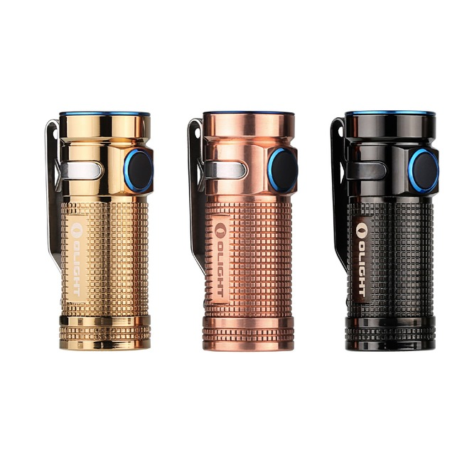 Mini lanterna led Olight S Mini Baton Cupru