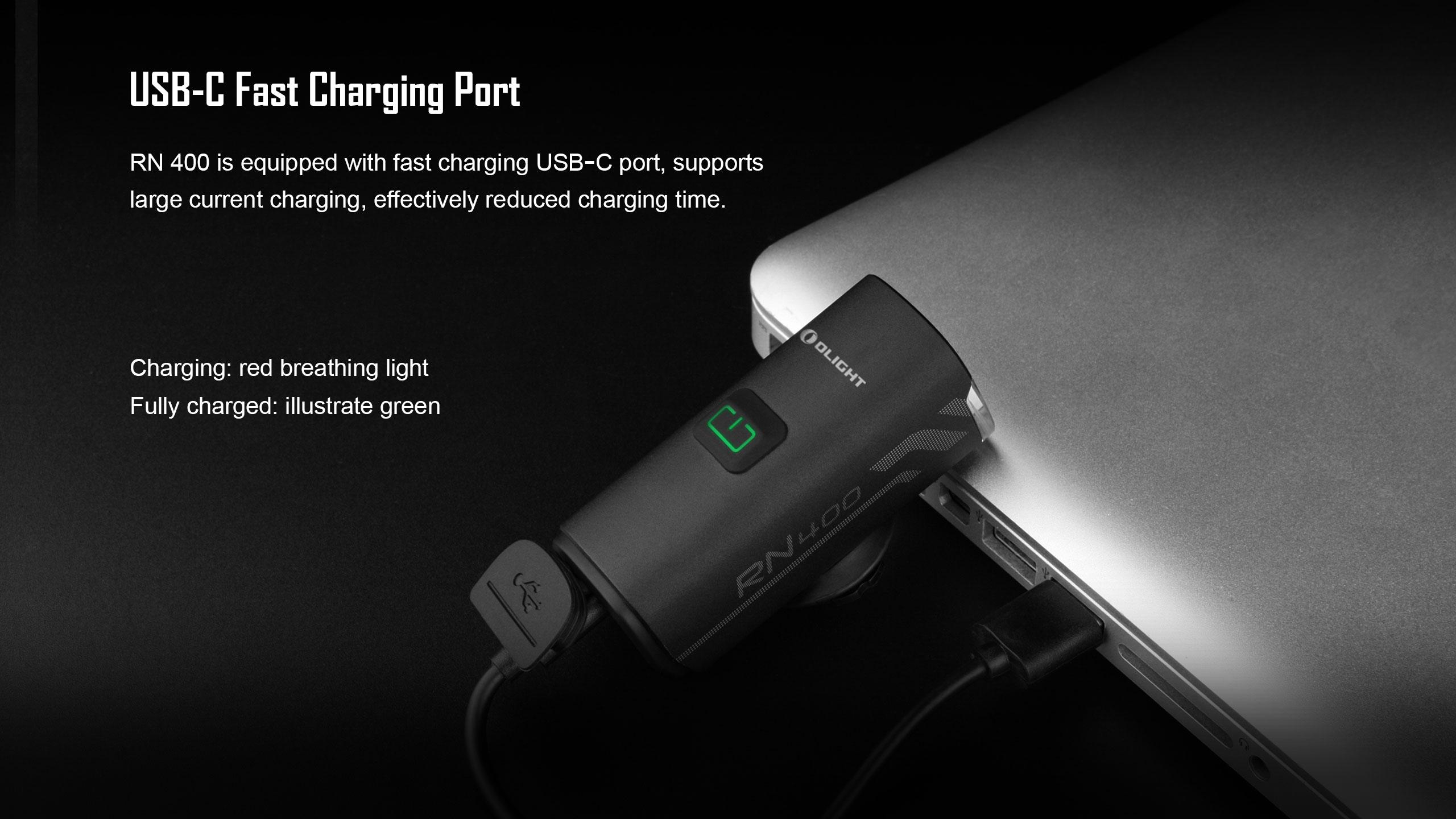 Lanterna bicicleta reincarcabila USB-C